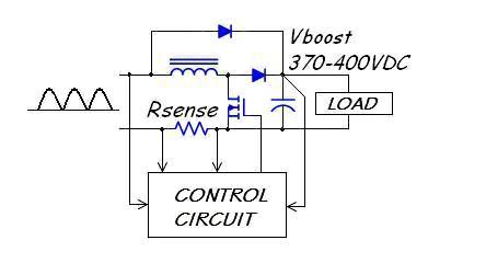 Power Supply on single supply circuit schematic diagram