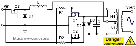 MOSFET inverter