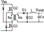 2-switch converter circuit